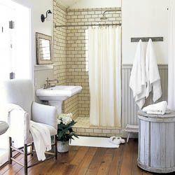 modern cottage bathrooms