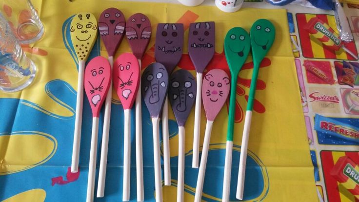 Story spoons