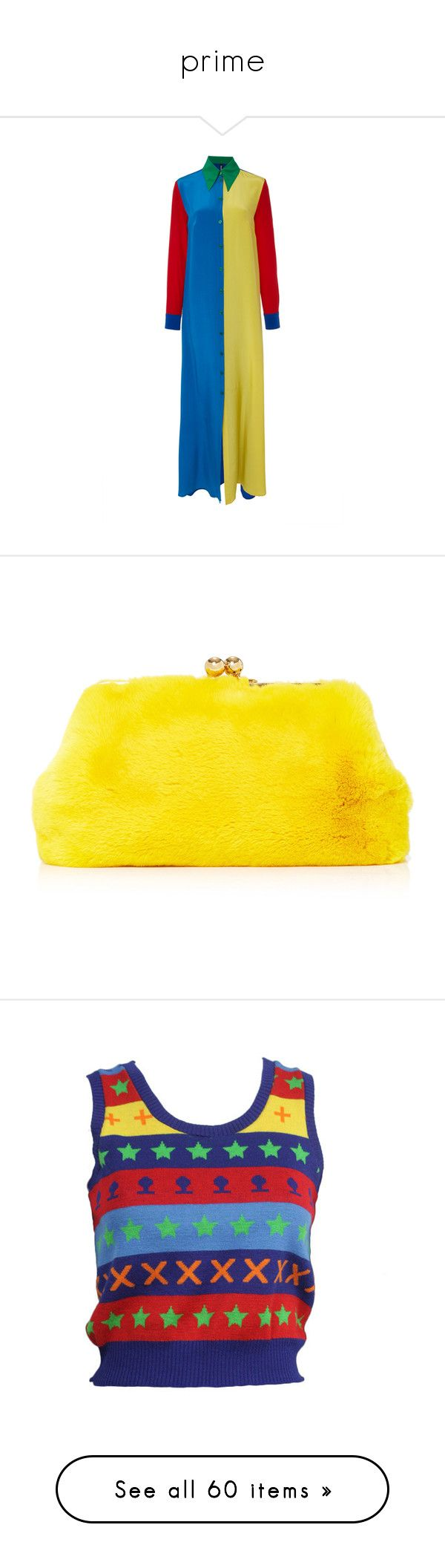 """prime"" by spa-brah ❤ liked on Polyvore featuring bags, handbags, clutches, fur, navy, navy blue handbags, yellow purse, kiss lock purse, kiss clasp handbags and yellow handbags"