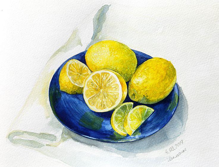 """Sketch flash mob 2017: Результаты по теме """"Лимоны"""", Nr. 150 - {иллюстрация, дизайн и другие ...котики} Page 4"""