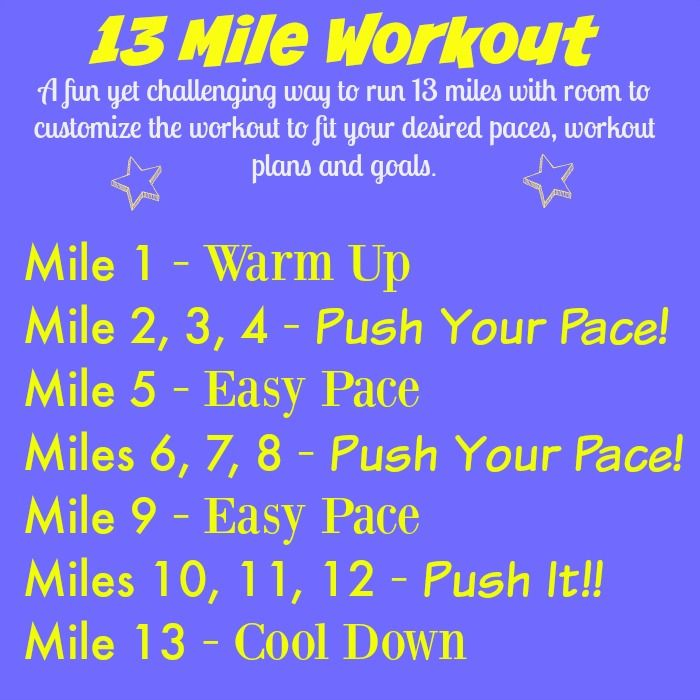 Half Marathon Long Run Workout {The Cookie ChRUNicles}