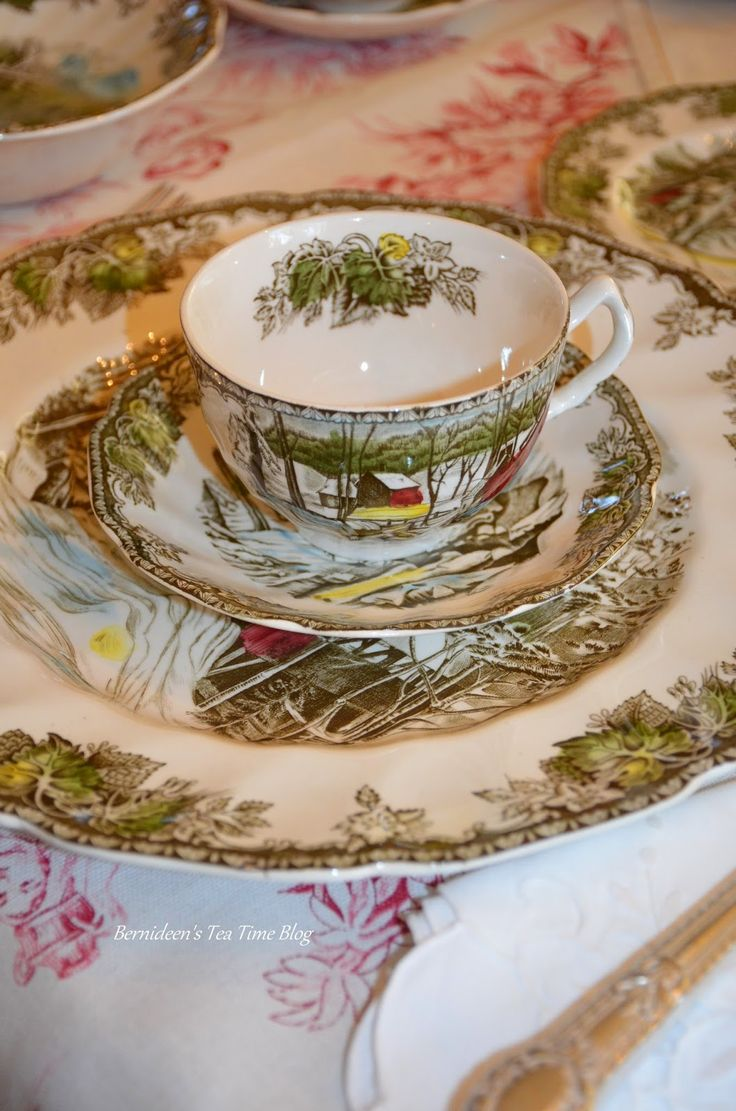 Bernideen's Tea Time Blog Christmas Chinachina
