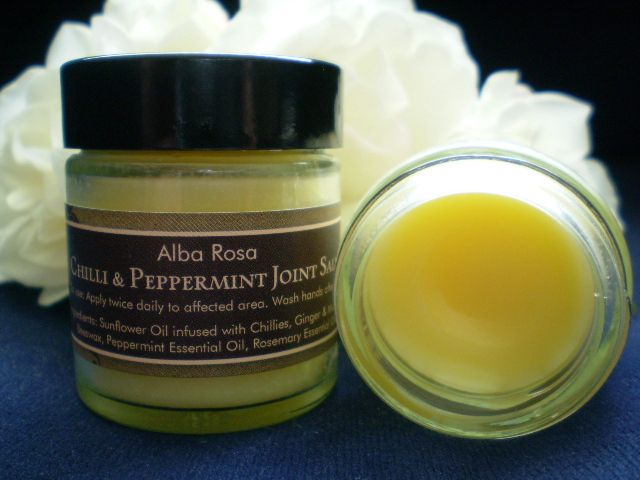 Chilli and Peppermint Joint Salve