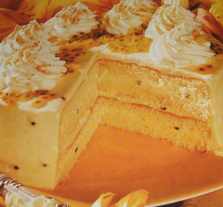 Layered Lilikoi Cake Recipe