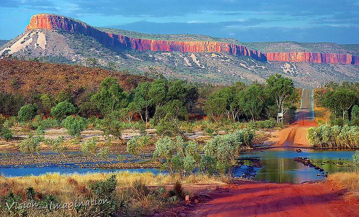 Pentecost River Crossing with Cockburn Range- Kimberley Western Australia!