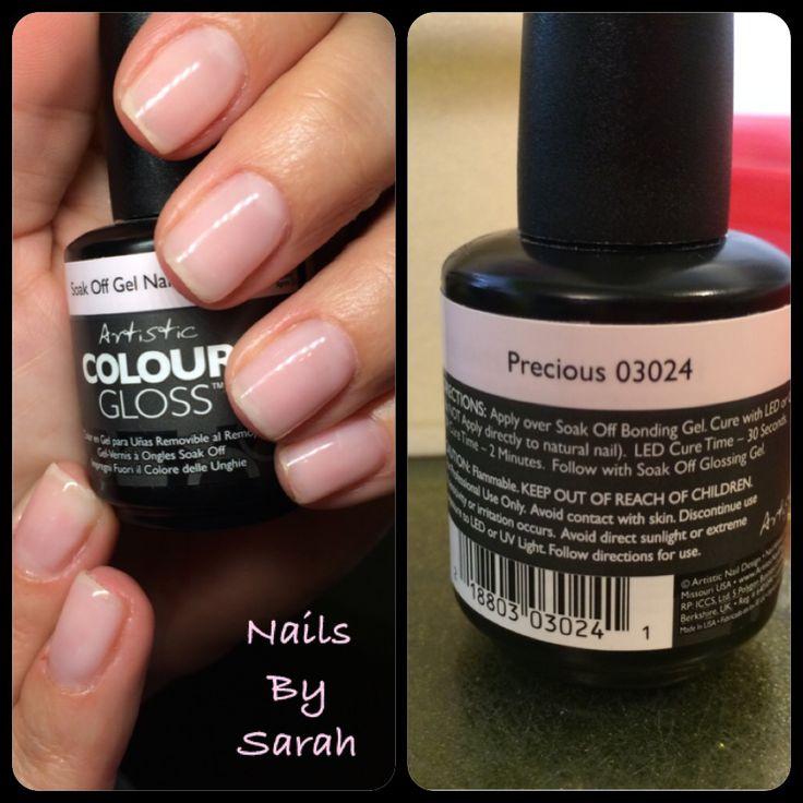 Artistic Colour Gloss by Sarah  #ArtisticNailDesign