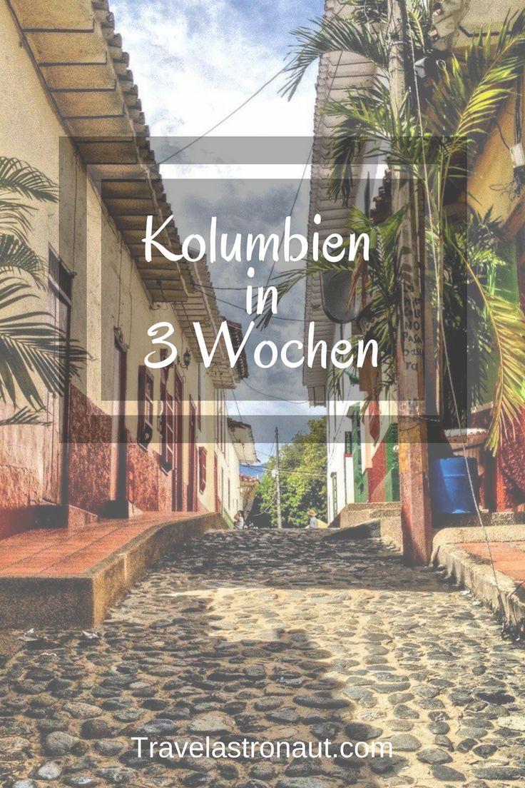 Ihr plant eine Reise durch Kolumbien, habt aber nur 3 Wochen Zeit? Dann hab ich hier für euch den perfekten Routenplaner mit Stopps in Bogota, Medellin, Villa de Leyva, Tayrona, Guatape und vielen mehr. Außerdem gibt es auf meinem Blog noch weitere Informationen über Kolumbien. #colombia #kolumbien #travel #reise #medellin #bogota #tayrona #southamerica #guatape vielen Dank fürs weiterpinnen.