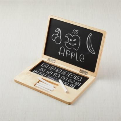 Personal Laptop Chalkboard Reviews Crate And Barrel