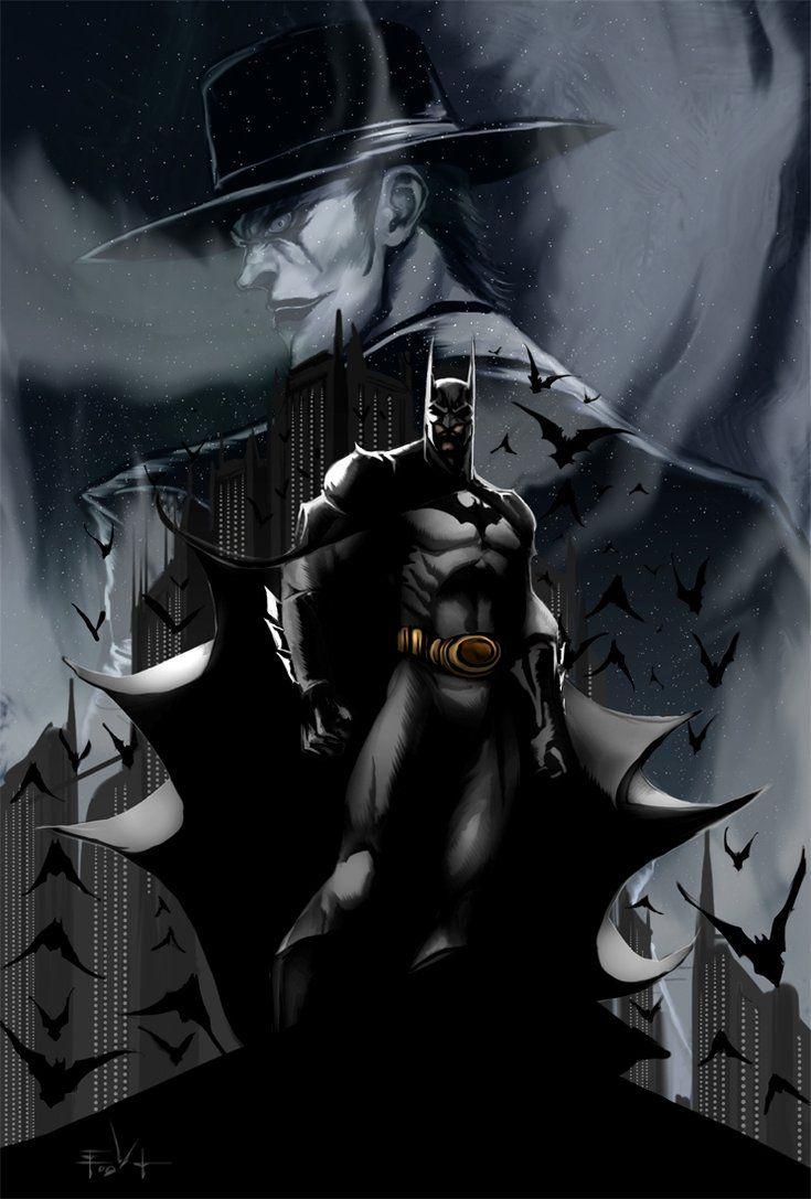 Deadshot wallpaper galleryhip com the hippest galleries - Pics Photos Batman The Joker Artwork Batman The Dark Knight Wallpaper Tv