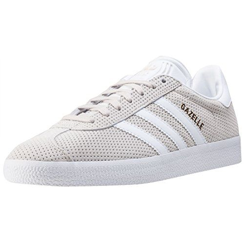 adidas Gazelle Womens Trainers Beige 9 UK ** Amazon most trusted e-retailer  #