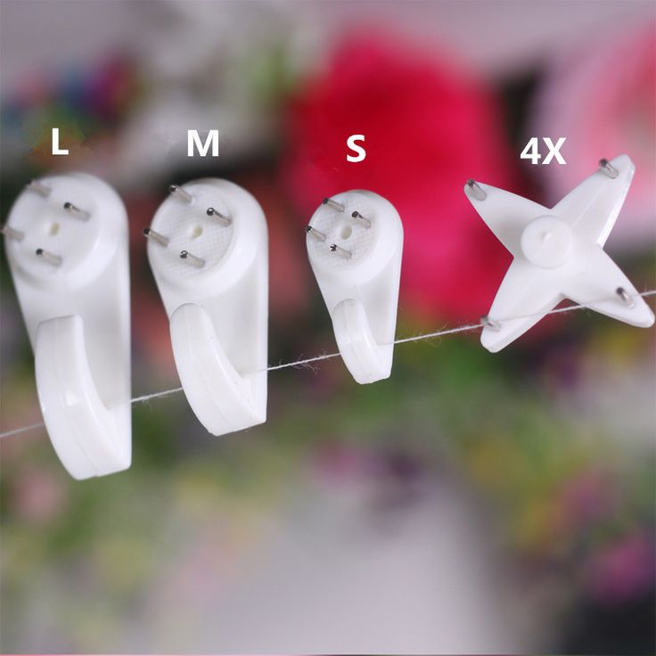 Картина вешалки 100 шт. = 25 * ( S + + L + 4X ) , не ультра следа ногтей // крюк для фоторамки / свадебные фотографии / одежда / сумки / метоп украшением купить на AliExpress