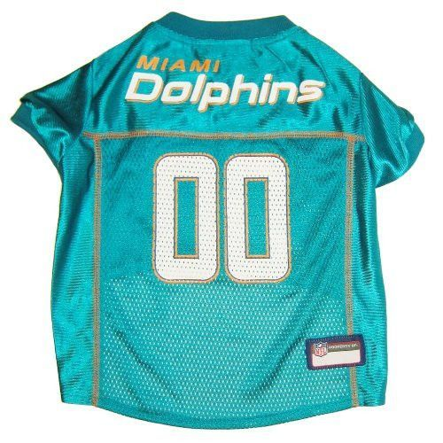 Miami Dolphins Dog Jersey - Teal