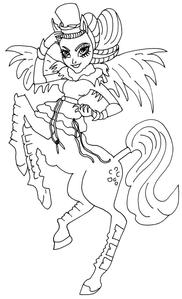 avia trotter coloring pages - photo#4
