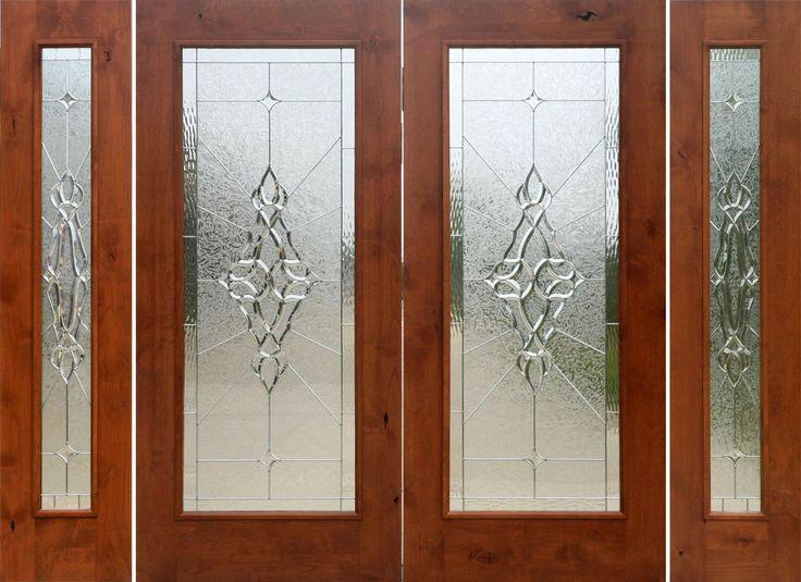 Beveled Glass Panel Interior Doors