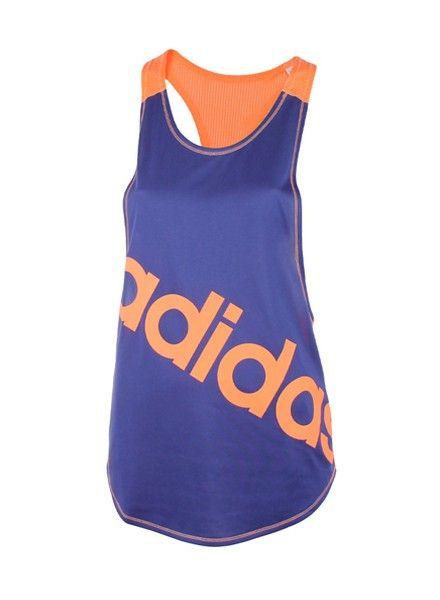 NEW - Adidas Top Dance Racer Dames #running #hardlopen #hardloopkleding #fitness #fitnesskleding #adidas