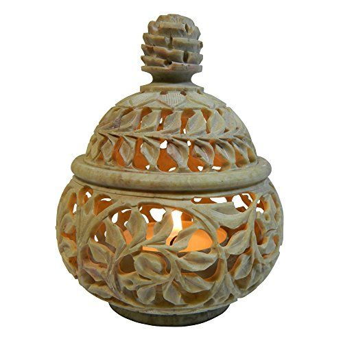 Lampada Porta candele rotonda, 10 cm, pietra ollare con p... https://www.amazon.it/dp/B00EZQS868/ref=cm_sw_r_pi_dp_x_fImkyb7CSZXE4