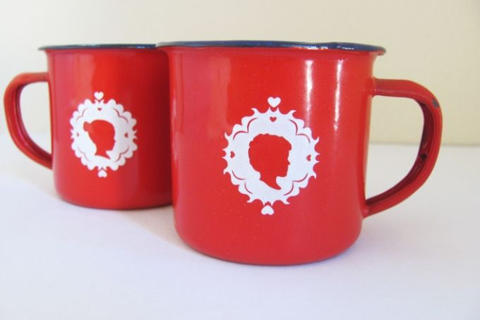 Red or Navy Woelwater Mug by tjou-tjou on hellopretty.co.za