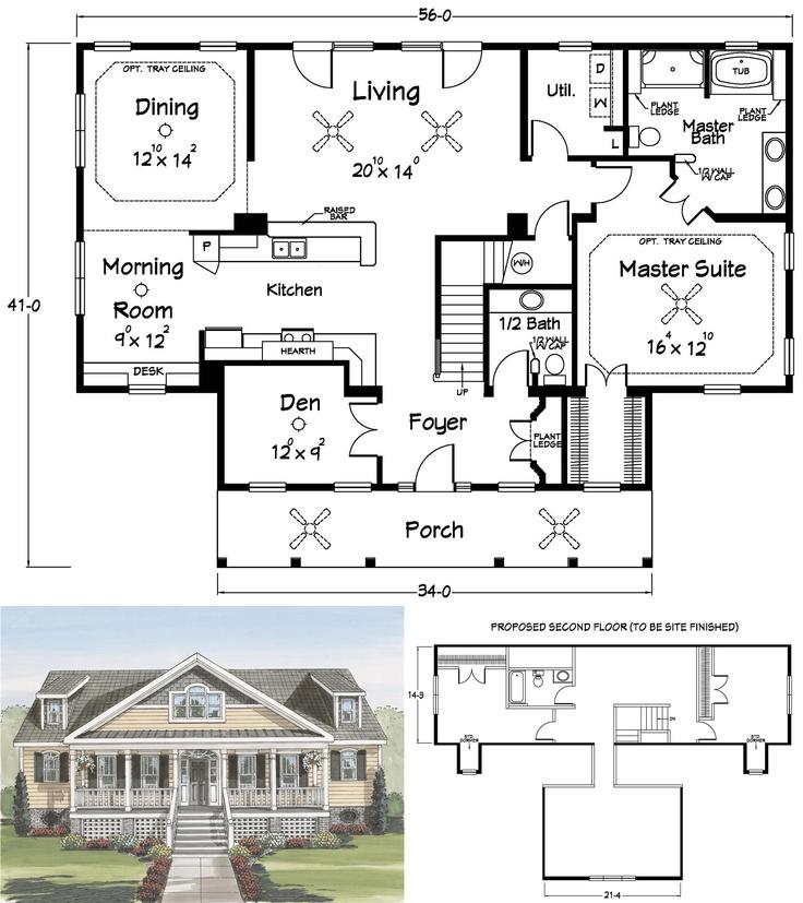 Cape cod house plans no garage for House plans no garage