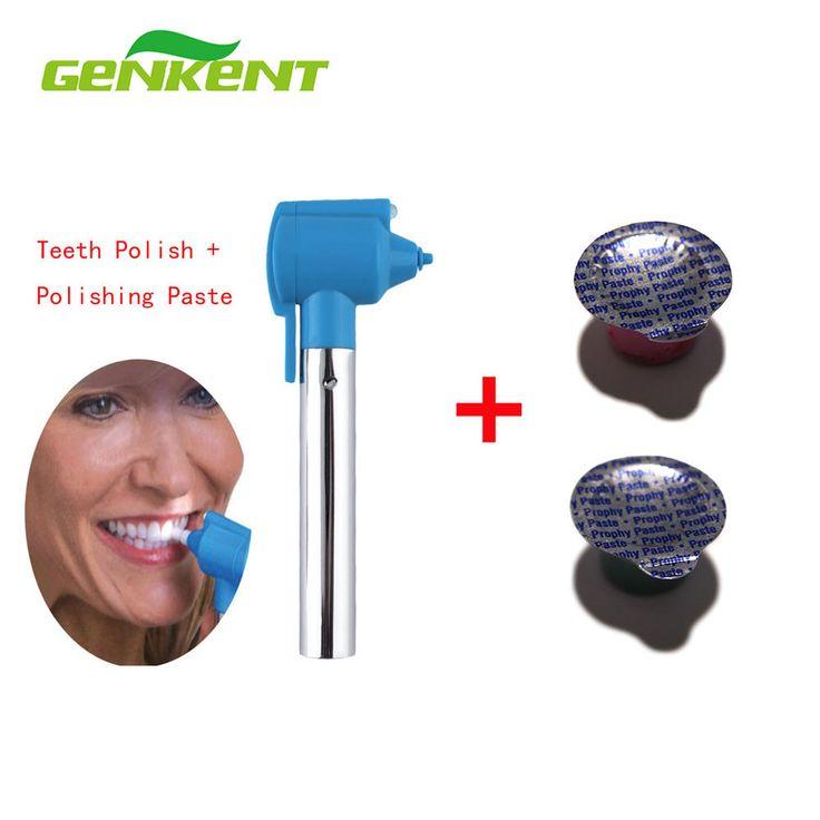 GENKENT Tooth Polishing And Polishing Paste Whitening Burnisher Polisher Whitener Remover Stain Professional Teeth Whitening Kit