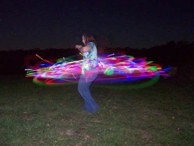 Make your own #glowstick hula hoop! #DIY
