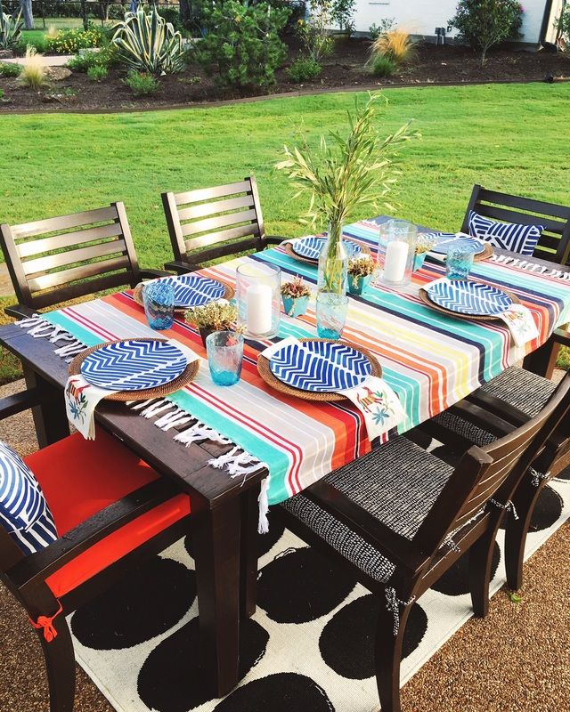 Colorful Blanket Is The Perfect Picnic Tablecloth Eclecticallyvintage