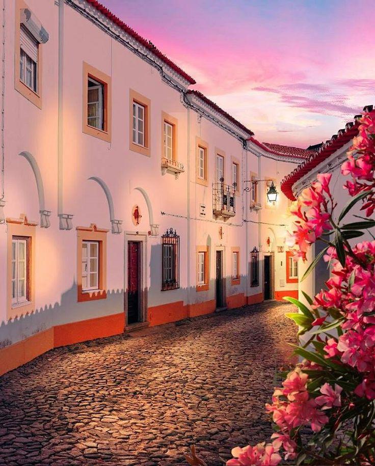 Becos e ruelas de Évora... Fotografia de Ana Fialho