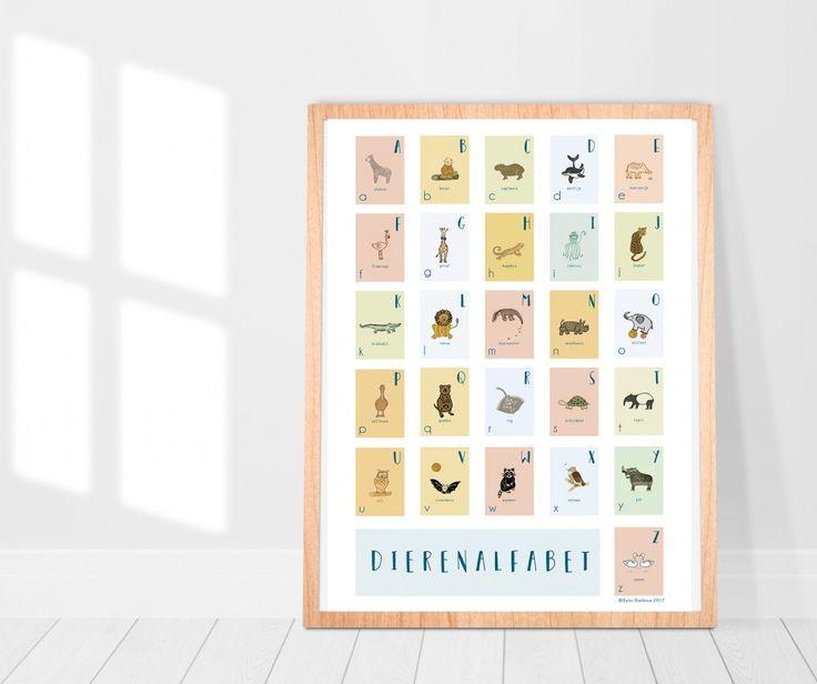 Helpen jullie mijn crowdfund te steunen? Ik wil heel graag dit dierenalfabet als poster laten drukken en gaan gebruiken voor een vaste collectie geboortekaartjes. Alle hulp is welkom en mijn dank is groot!