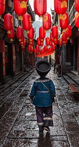 Streets of Fenghuang . China