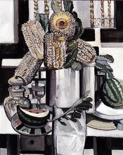 Native Honeysuckle - Margaret PRESTON