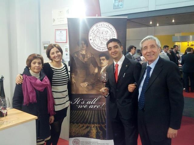 The Mastrodomenico Family. #vinitaly 2013