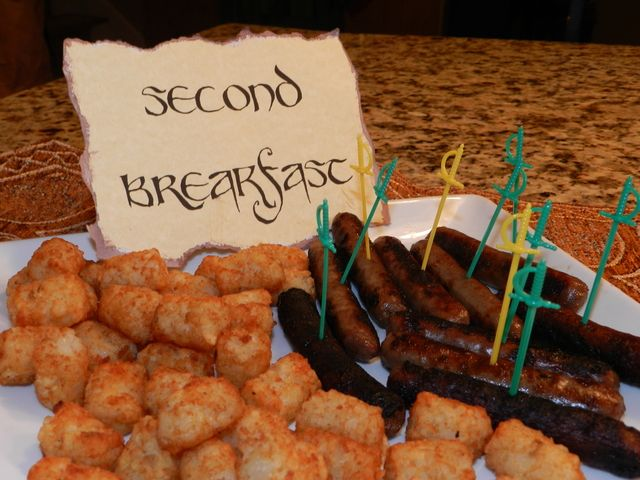 Second breakfast at a Hobbit party  #hobbit #partyfood