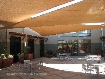 Remarkable Courtyard Shade Sails Cover Patio
