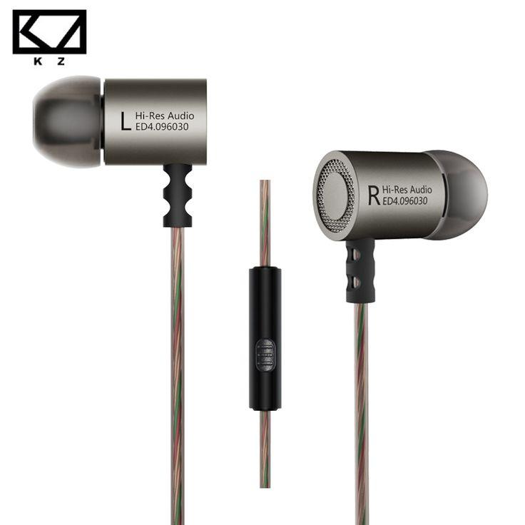Cheap KZ ED4 Earphone Soft Earplugs for PC Computer