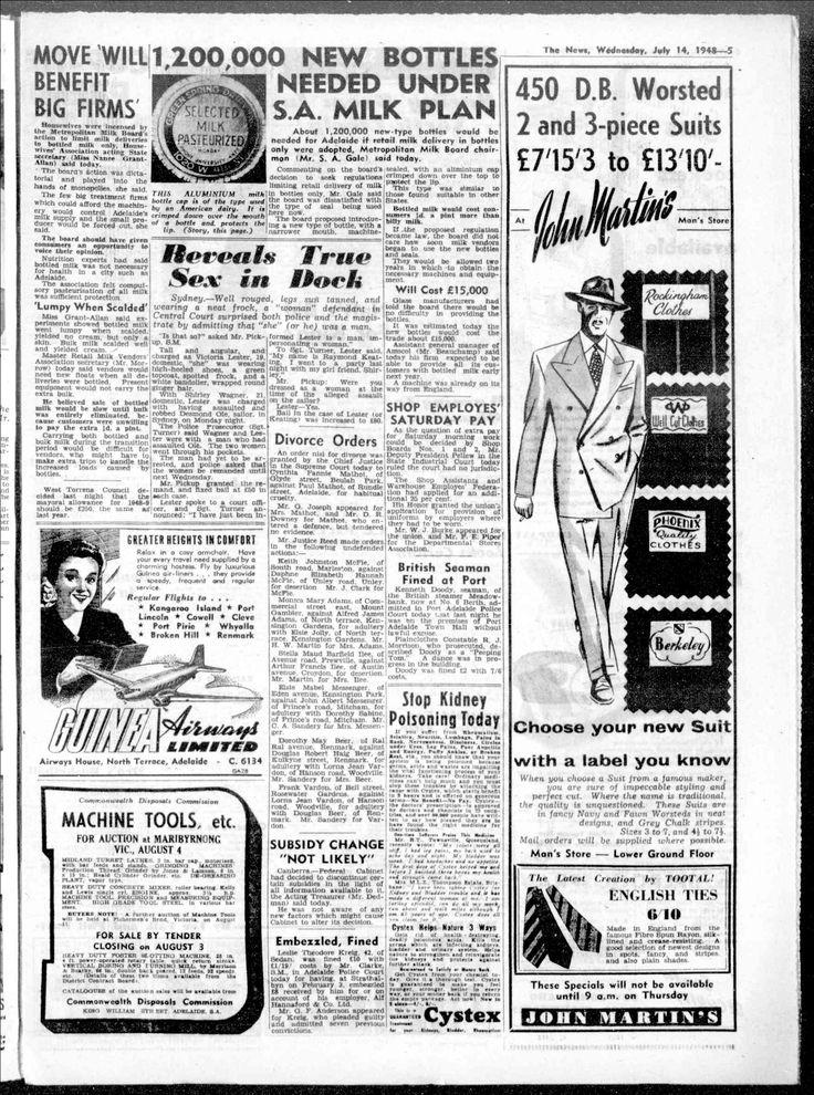 News (Adelaide, SA) - Australian Newspapers - MyHeritage