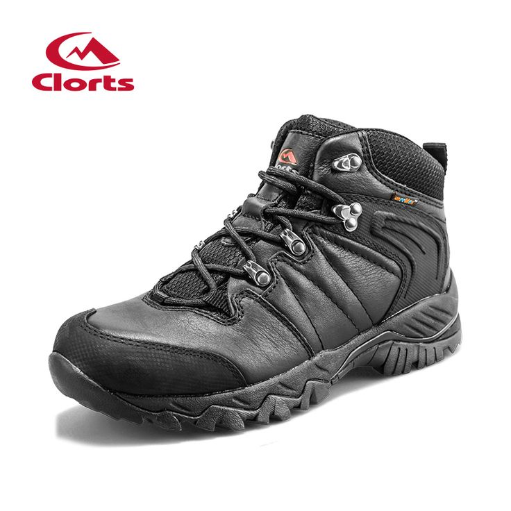 2016 Clorts Men Hiking Shoes Hunger Game Genuine Leather Waterproof Trekking Shoes Hiking Boots Breathable Outdoor Shoes HKM-822