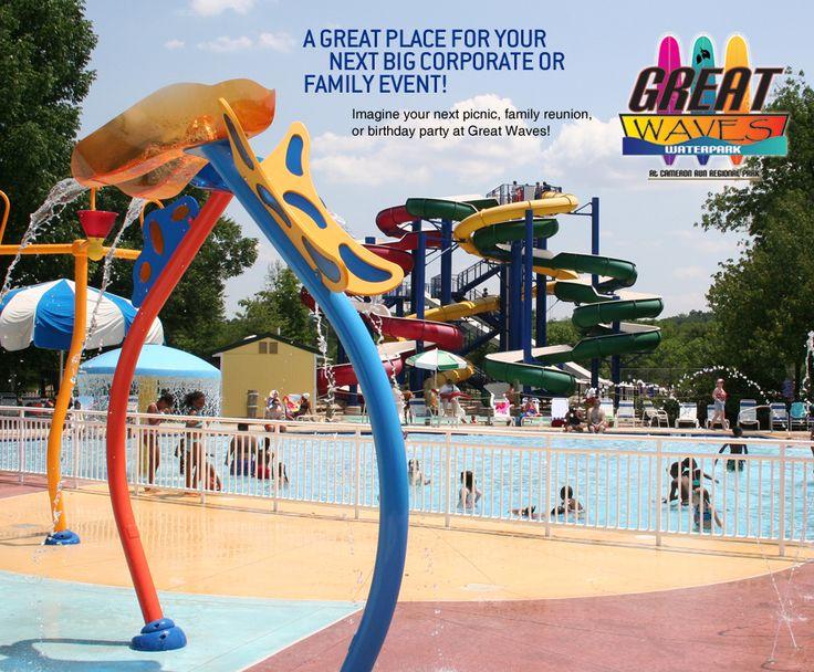 Alexandria water park/mini golf