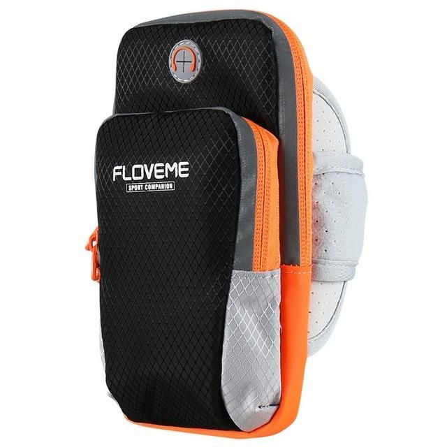 """FLOVEME 6.0"""" Universal Arm Band Case For Samsung Galaxy Note 8 S8 Plus S7 S6 Edge For iPhone X 8 7 6s Plus Sports Running Bag"""