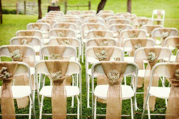 Ideas para la decoración de la ceremonia de la boda #bodas #ElBlogdeMaríaJosé…
