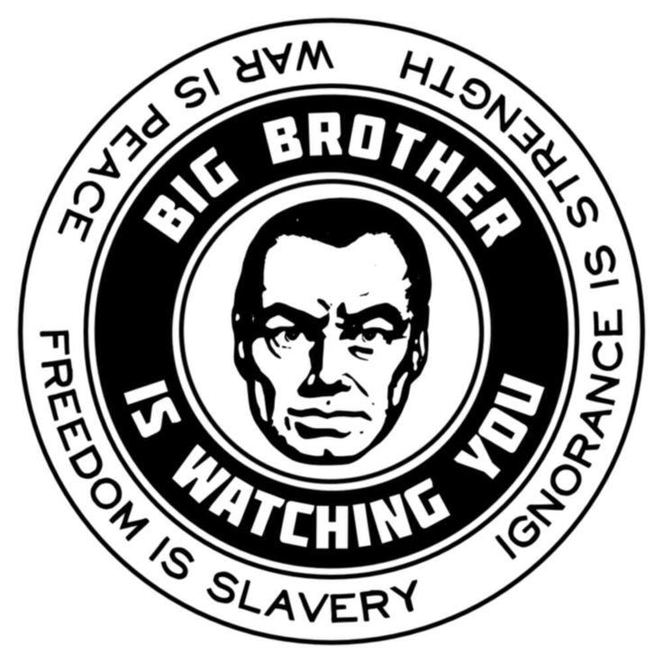 Resultado de imagen de Big Brother Orwell