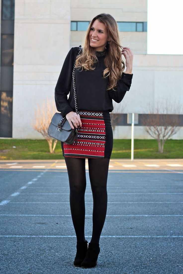 Ethnic skirt, tribal skirt, falda tribal falda étnica http://www.mitacondequitaypon.com/2015/01/ethnic-night-out.html