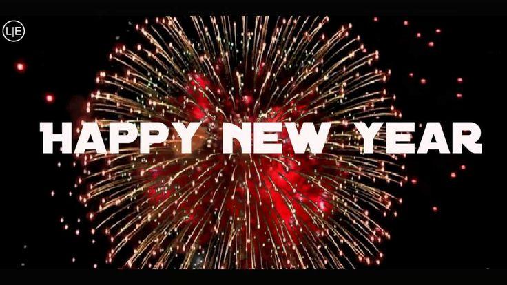 HAPPY NEW YEAR 2017 FIREWORKS New Year's Eve 2017 abba with lyrics - YouTube