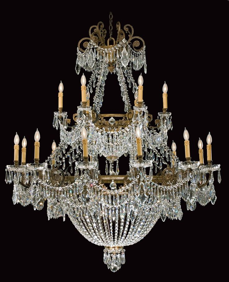 Best 25 antique chandelier ideas on pinterest french chandelier crystal chandeliers and - Can light chandelier ...
