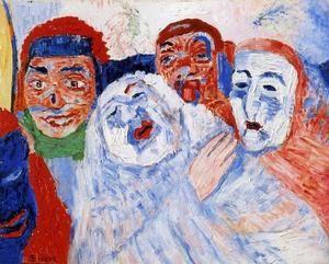 James Ensor - Masques Chantants