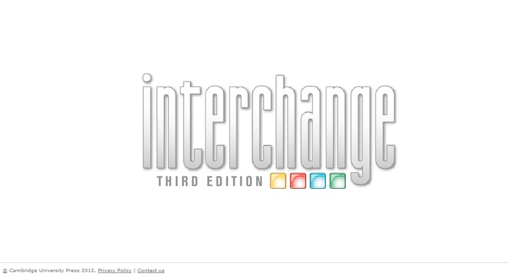 Interchange Third Edition Arcade: logo by Cambridge
