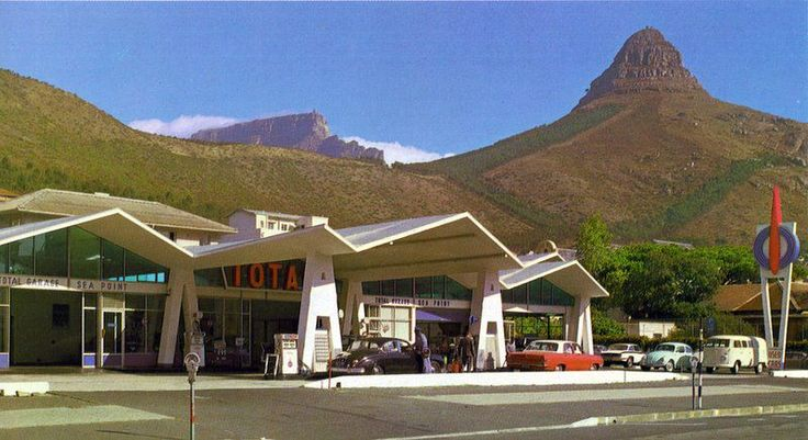 Total Filling Station, Sea Point main road. #CapeTown