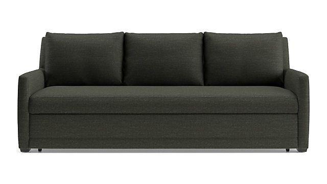 Reston Queen Trundle Sleeper Sofa In 2020 Sofa Trundle Mattress
