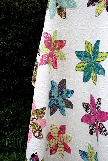 Quilt, flower quilt?