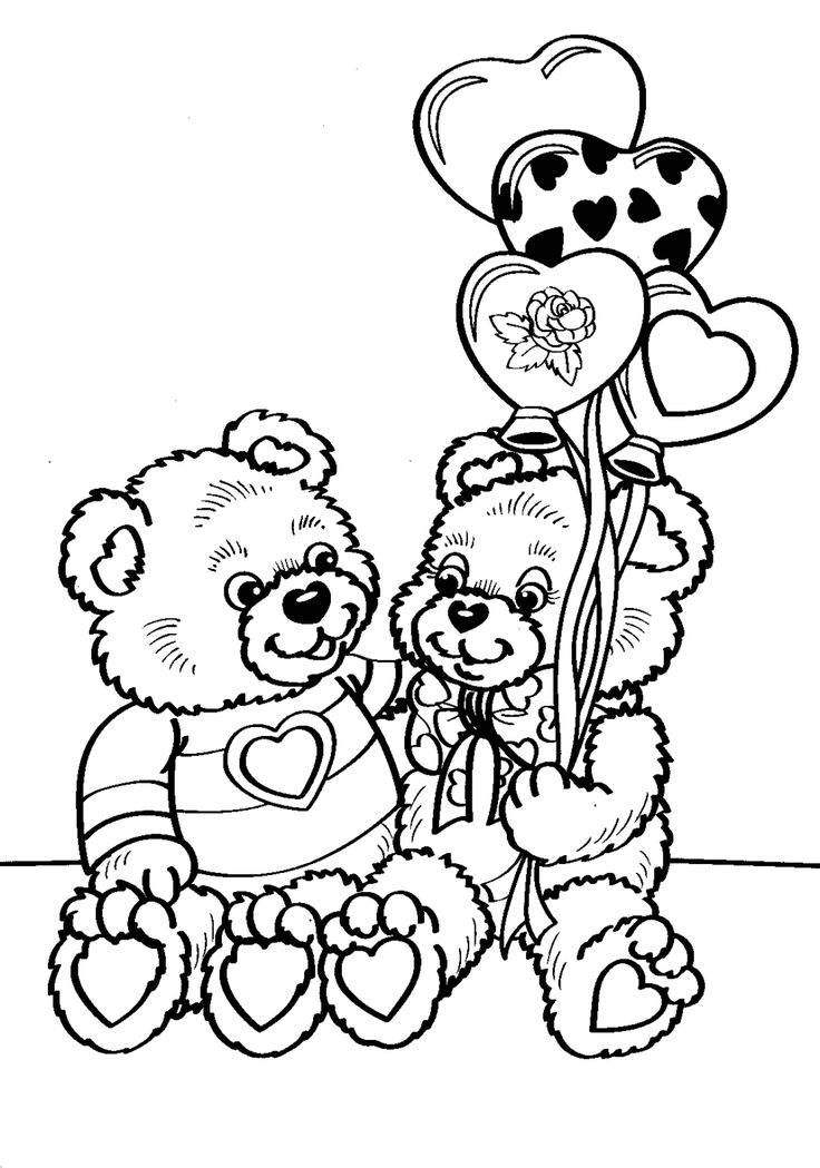 Creative Image of Preschool Valentines Day Coloring Pages ...