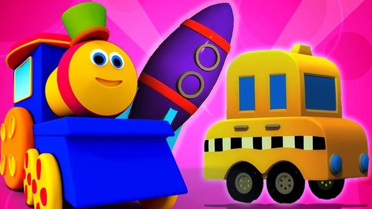 بوب القطار مغامرة النقل أغنية تعليمية تعلم السيارة Nursery Rhyme Bob Transport Train Learnwithbob أطفال الروضة الفيديو Kids Learning Learning Kids