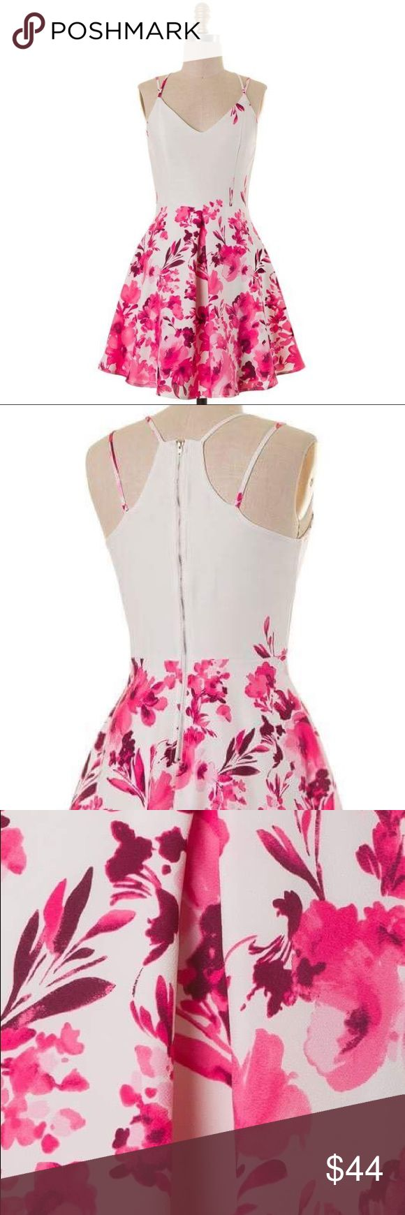 Coming soon! Fit and Flare Pink Floral Dress Coming soon! Blue and White will also be available Naturally Spiritual Dresses